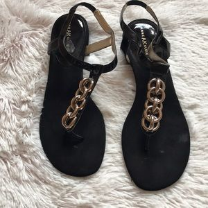 Gold Chain Sandals
